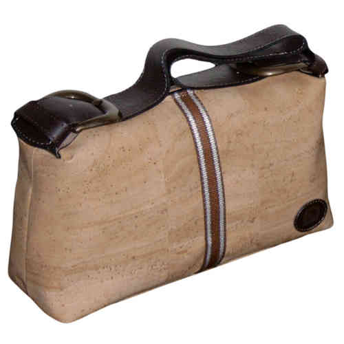 "Genuine Cork Handbag, Model ""Havana"""