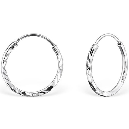 Sterling Silver 14mm Sleeper earrings