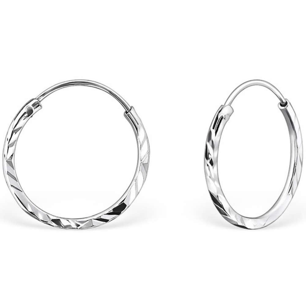 sterling silver 14mm sleeper earrings anjasmagicbox co uk