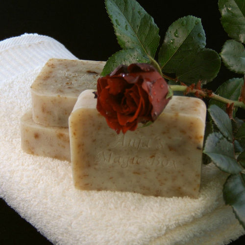 "Handmade ""Rose"" Soap, 90gr"