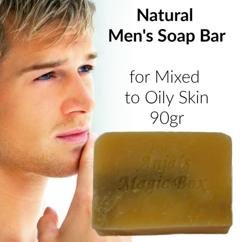 "Handmade ""Men's Favourite"" Soap, 90gr"