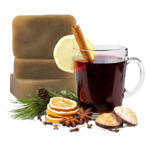 "Handmade ""Mulled Wine"" Soap, 90gr"